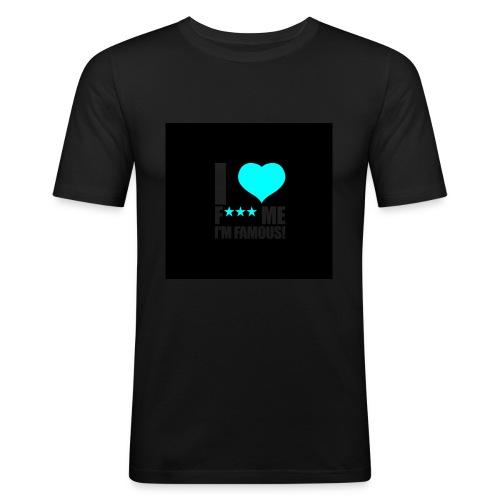 I Love FMIF Badge - T-shirt près du corps Homme