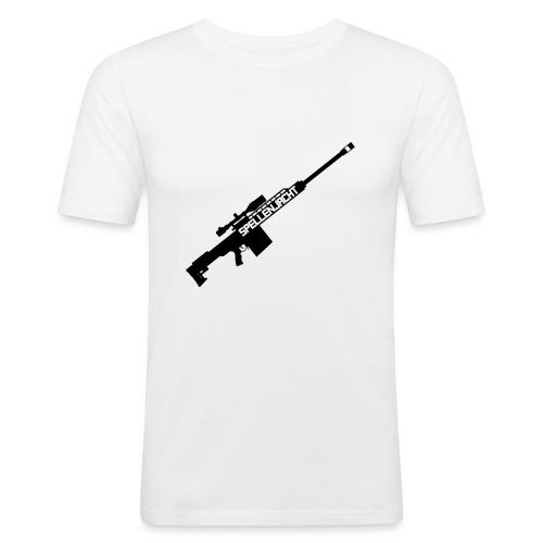 Het Jacht Geweer - Mannen slim fit T-shirt