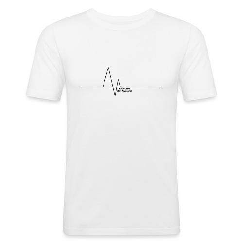 Heartbeat Cover - Men's Slim Fit T-Shirt