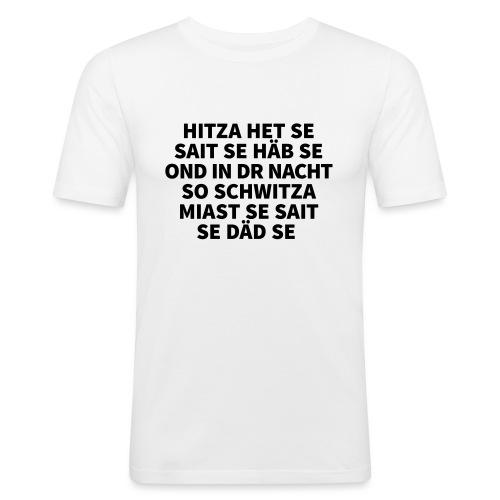 Hitza - Männer Slim Fit T-Shirt