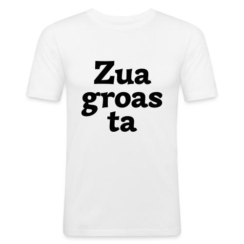 Zuagroasta - Männer Slim Fit T-Shirt