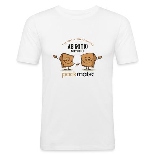 AbInitio - Männer Slim Fit T-Shirt