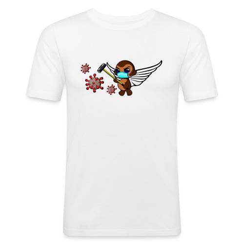 covidmonkey - Men's Slim Fit T-Shirt