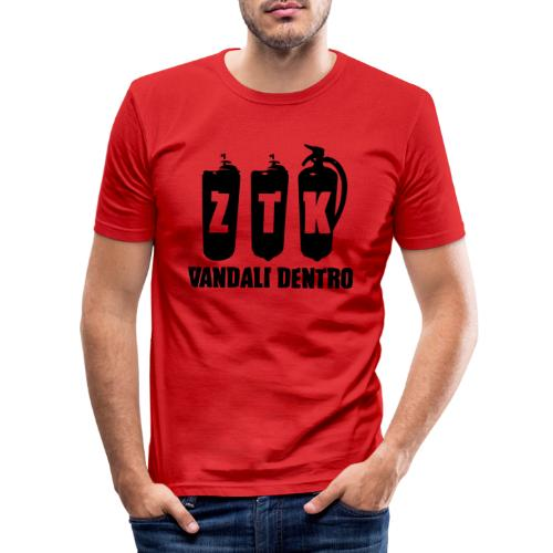 ZTK Vandali Dentro Morphing 1 - Men's Slim Fit T-Shirt
