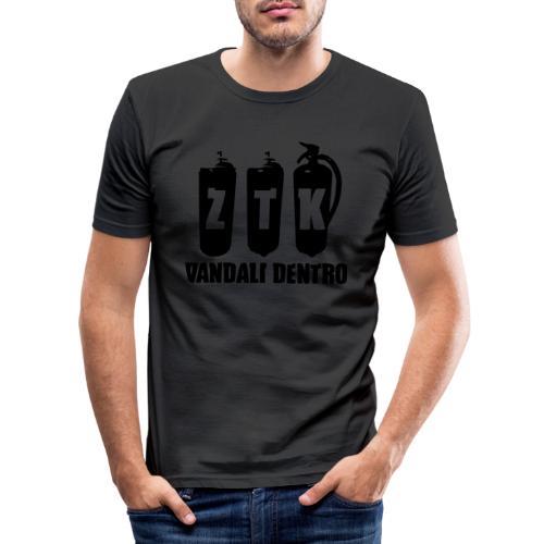 ZTK Vandali Dentro Morphing 1 - Men's Slim Fit T-Shirt
