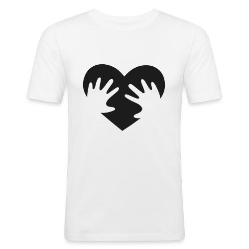 Heart - Slim Fit T-shirt herr
