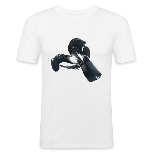 boxing gloves (Saw) - Men's Slim Fit T-Shirt