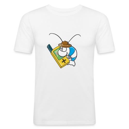 Thoddys Geocaching Garnele - Männer Slim Fit T-Shirt