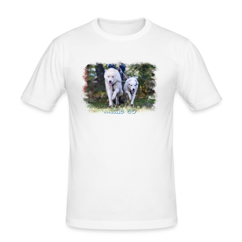 ...and Go - Männer Slim Fit T-Shirt