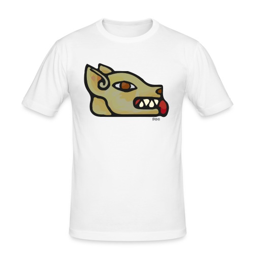 Aztec Icon Dog - Men's Slim Fit T-Shirt