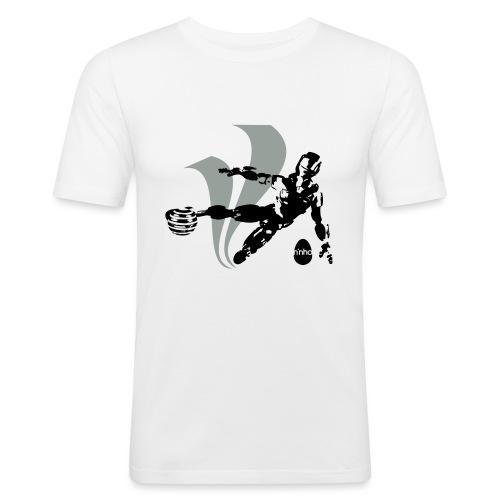 Football Robot - Maglietta aderente da uomo