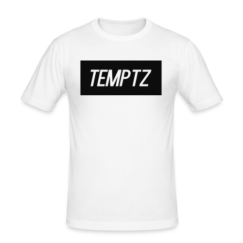 TempTz Orignial Hoodie Design - Men's Slim Fit T-Shirt