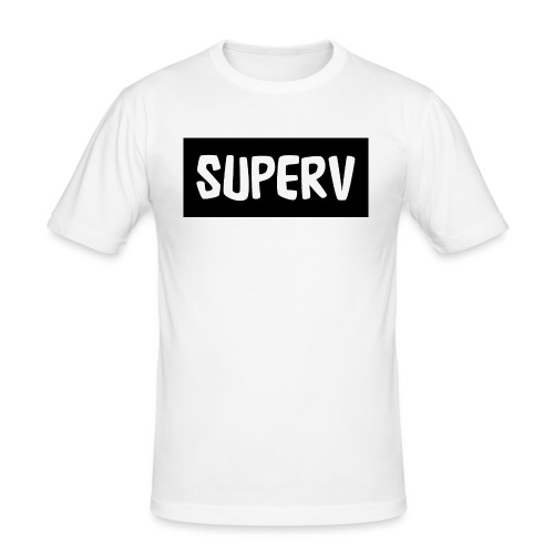 SUPERV - Men's Slim Fit T-Shirt