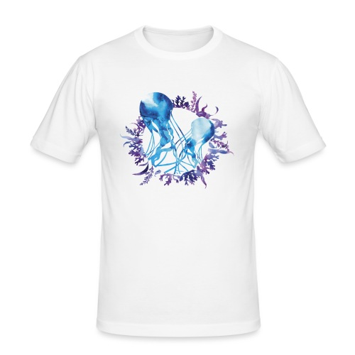 bluecontest - T-shirt près du corps Homme