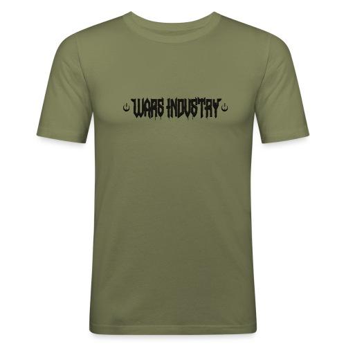 Premium noir - T-shirt près du corps Homme