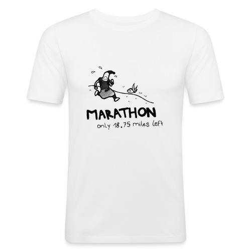 marathon-png - Obcisła koszulka męska