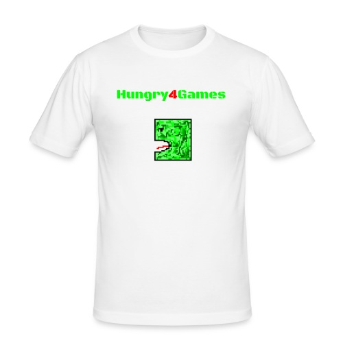A mosquito hungry4games - Men's Slim Fit T-Shirt