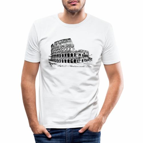 Kolosseum - Männer Slim Fit T-Shirt