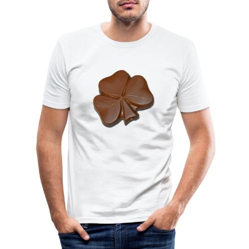 Chocolate Shamrocks - Men's Slim Fit T-Shirt