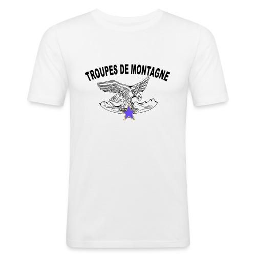choucasTDM dos - T-shirt près du corps Homme