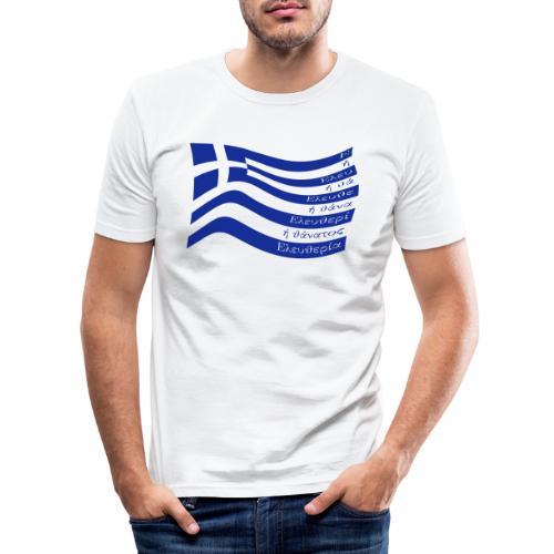 galanolefki - Männer Slim Fit T-Shirt