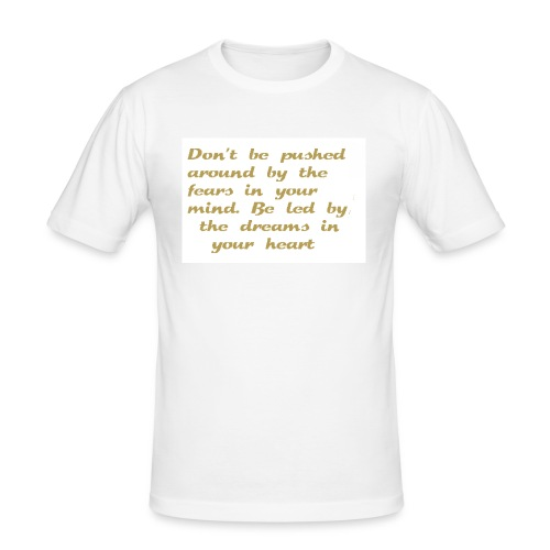 Dreams in your heart - Slim Fit T-skjorte for menn