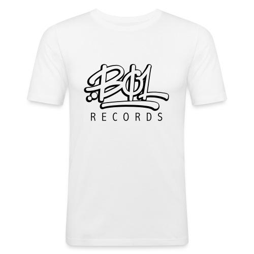 Bøl Records - Slim Fit T-skjorte for menn