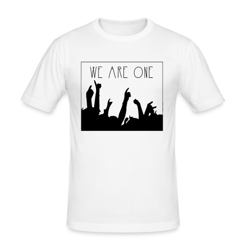We Are One Hoody Women - Mannen slim fit T-shirt