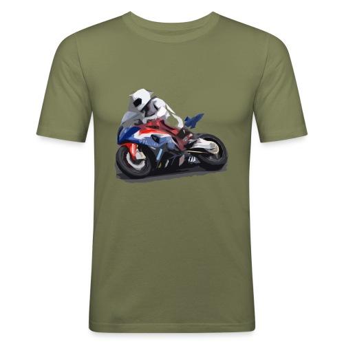 MOTO - Maglietta aderente da uomo