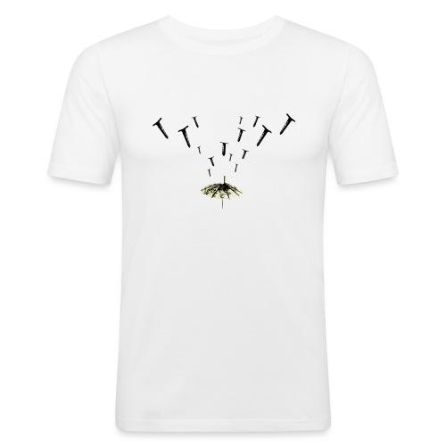 Nail Rain - Maglietta aderente da uomo