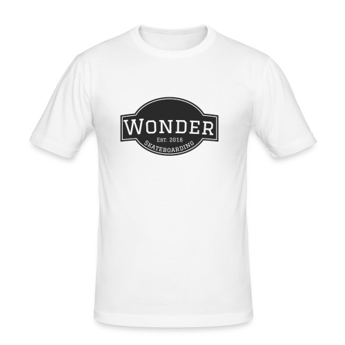 Wonder T-shirt - ol' small logo - Herre Slim Fit T-Shirt