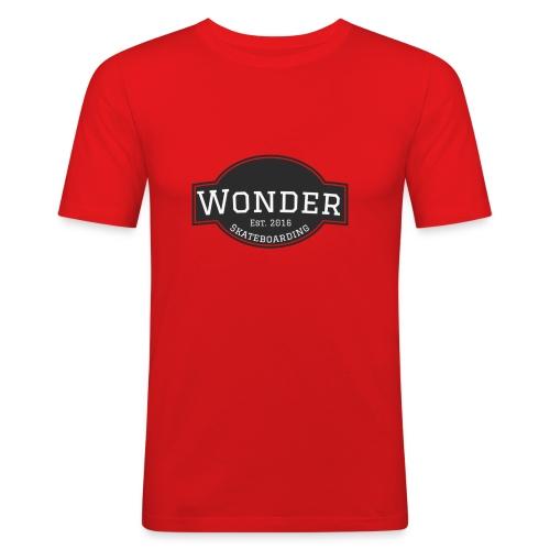 Wonder T-shirt - ol' small logo - Herre Slim Fit T-Shirt