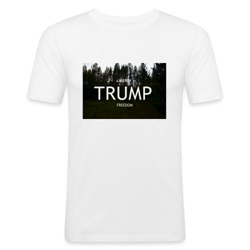 TRUMP, Freedom & Liberty - Men's Slim Fit T-Shirt