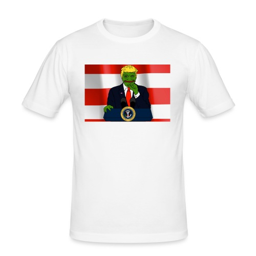Pepe Trump - Men's Slim Fit T-Shirt