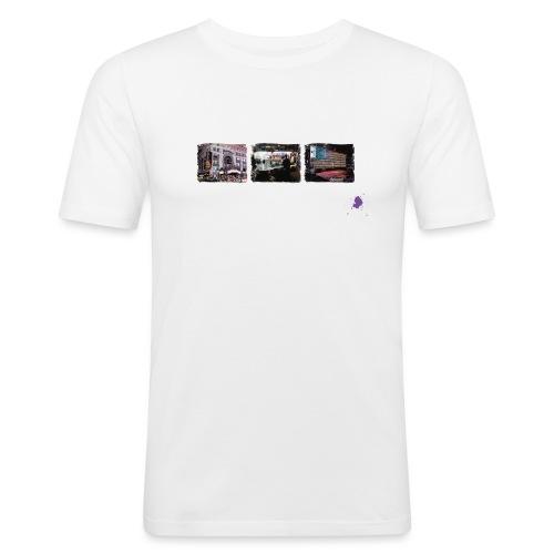 new york color ohne kontu - Männer Slim Fit T-Shirt