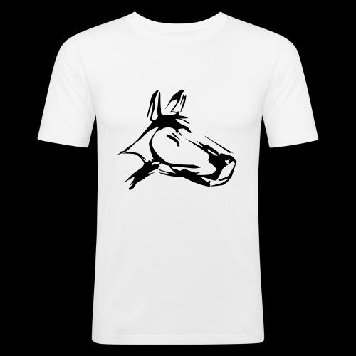 der hund 10 x 10 - Männer Slim Fit T-Shirt