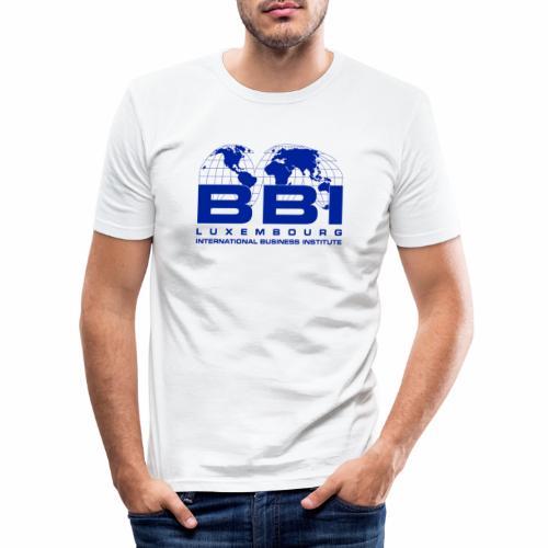 Blue Logo Collection - Men's Slim Fit T-Shirt