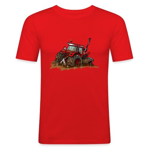 IH in de blub - Mannen slim fit T-shirt