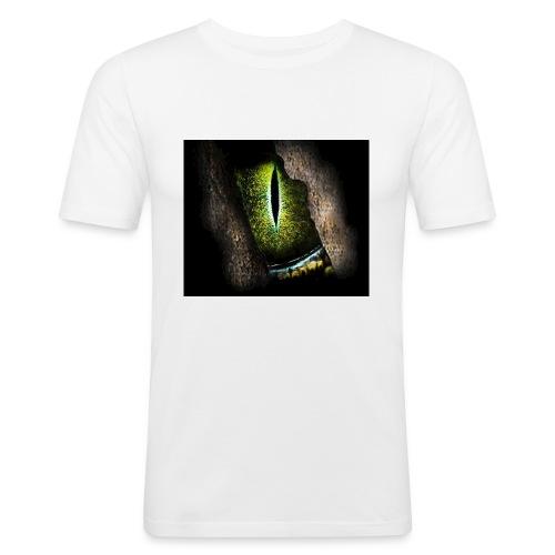 ReptilianEye - Männer Slim Fit T-Shirt