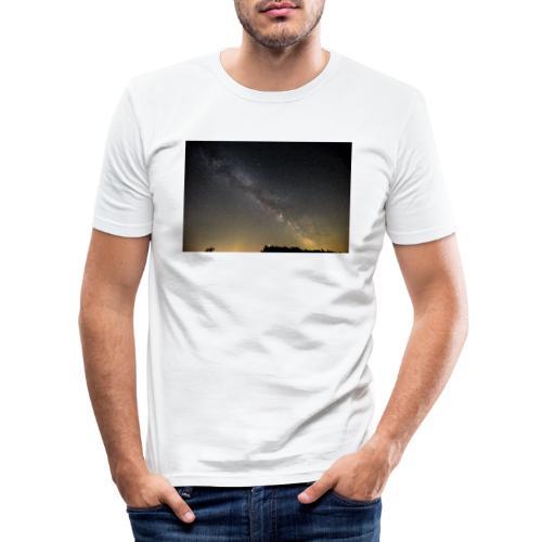Milchstraße - Männer Slim Fit T-Shirt