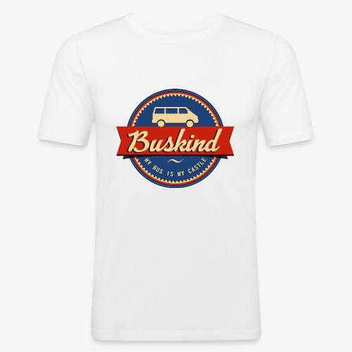 Buskind - Männer Slim Fit T-Shirt