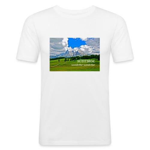 SÜDTIROL wunderbar wanderbar - Männer Slim Fit T-Shirt