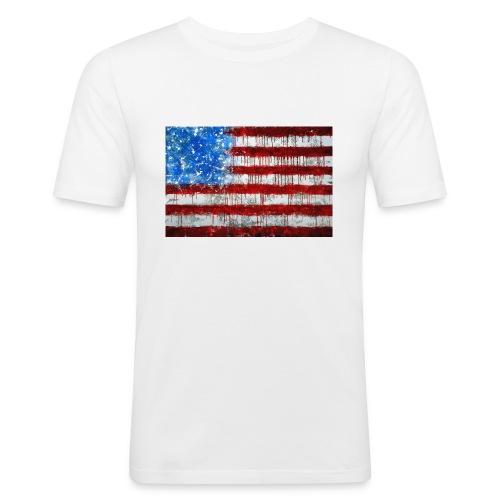 USA - Camiseta ajustada hombre