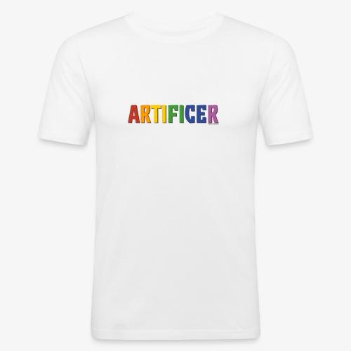 Artificer Pride (Rainbow) - Men's Slim Fit T-Shirt