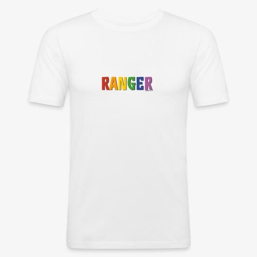 Ranger Pride (Rainbow) - Men's Slim Fit T-Shirt