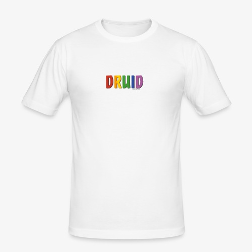 Druid Pride (Rainbow) - Men's Slim Fit T-Shirt