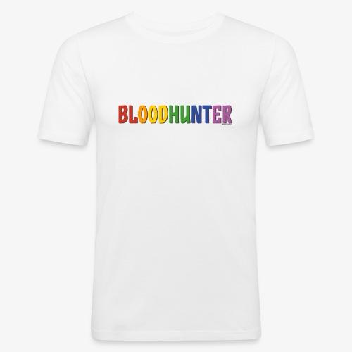 Bloodhunter Pride (Rainbow) - Men's Slim Fit T-Shirt