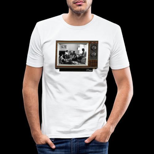 TV @ the TV - T-shirt près du corps Homme