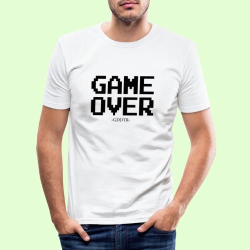Game Over - Männer Slim Fit T-Shirt