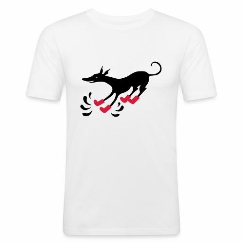 Latakko Loiskis - Miesten tyköistuva t-paita